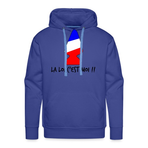 la loi c est moi - Sweat-shirt à capuche Premium pour hommes
