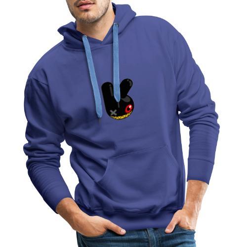 BLACK BUNN KING - Mannen Premium hoodie
