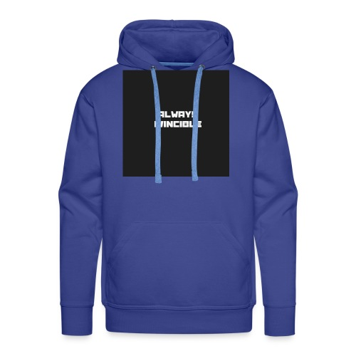 ALWAYS INVINCIBLE - Men's Premium Hoodie