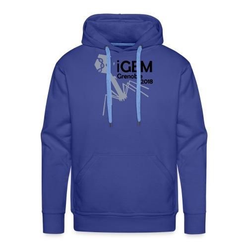 Logo iGEM - Sweat-shirt à capuche Premium pour hommes