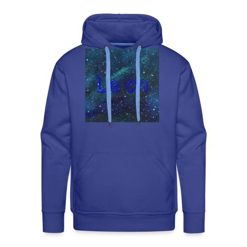 Hoodie in Blau - Männer Premium Hoodie