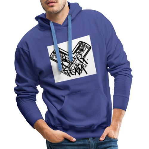 Logo SPG Team - Felpa con cappuccio premium da uomo