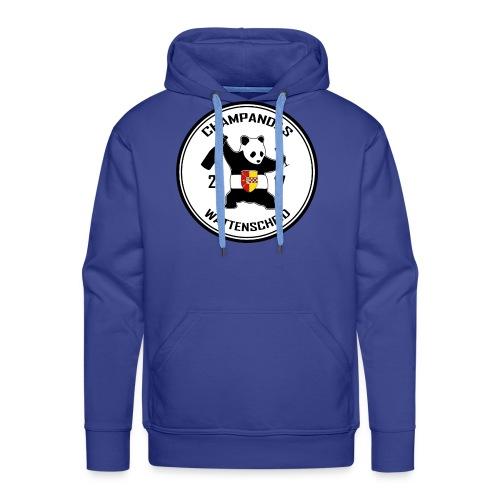 Champandas Logo - Männer Premium Hoodie