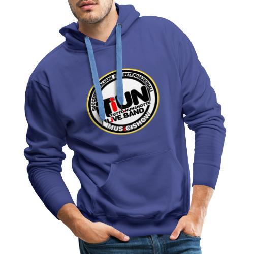 Logo 2018 - Felpa con cappuccio premium da uomo