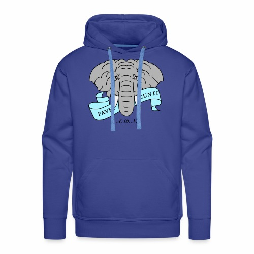 Elephant de Nantes - Sweat-shirt à capuche Premium pour hommes