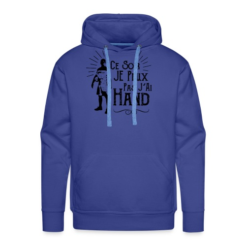 jaiHand - Sweat-shirt à capuche Premium pour hommes