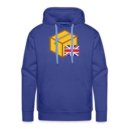 English Box Collection - Sweat-shirt à capuche Premium pour hommes