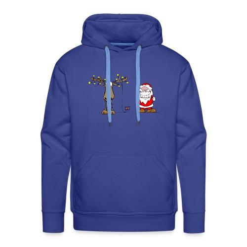 noel branché - Sweat-shirt à capuche Premium pour hommes