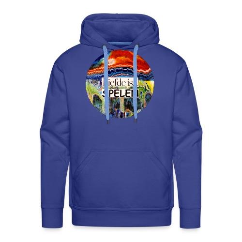 Liefde is spelen - Mannen Premium hoodie