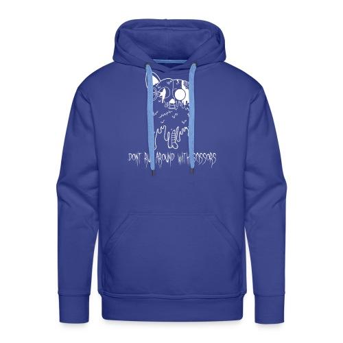 Dont Run Around With Scissors Black & White - Mannen Premium hoodie