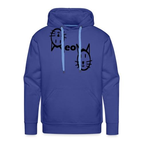 Moew Katzengesicht Geschenk Geschenkidee Katze - Männer Premium Hoodie