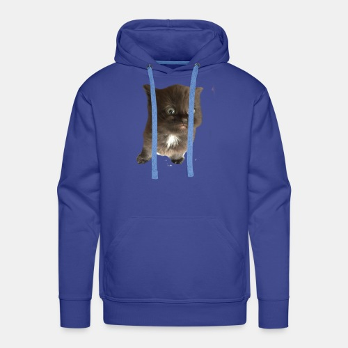 Scaredy Cat Oliver - Men's Premium Hoodie