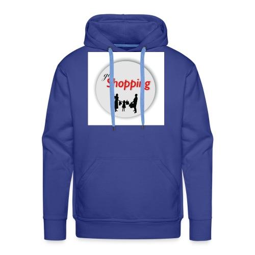 logo go shopping - Sudadera con capucha premium para hombre
