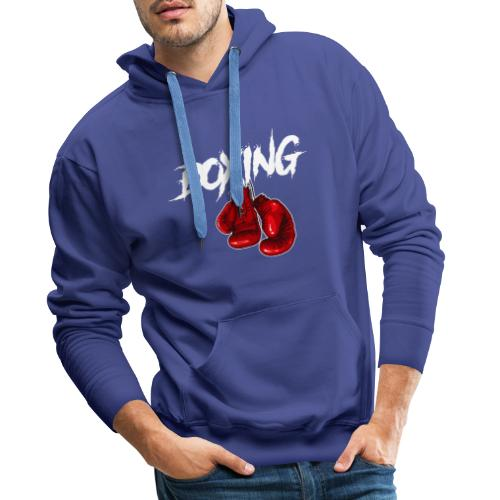 T-Shirt Boxing - Männer Premium Hoodie