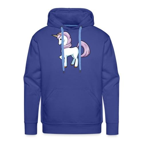 unicorn - Sweat-shirt à capuche Premium pour hommes