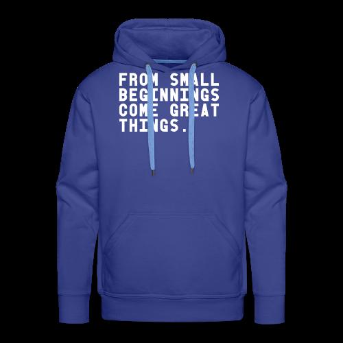 Basic Shirt - Mannen Premium hoodie