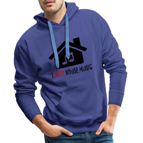 House Music Haus Party Shirt - Männer Premium Hoodie