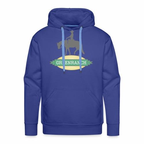 greenranch logo - Männer Premium Hoodie