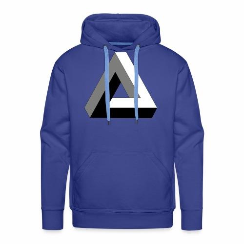 Das trendige Dreieck - Männer Premium Hoodie