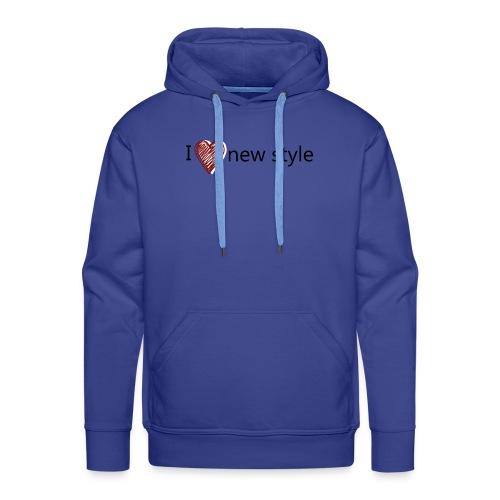 new style - Männer Premium Hoodie