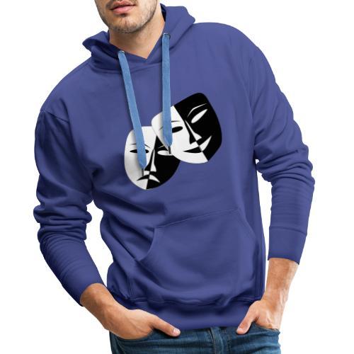 Maske Geschenk Idee - Männer Premium Hoodie