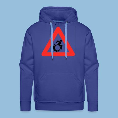 Pasopwheelchair2 - Mannen Premium hoodie