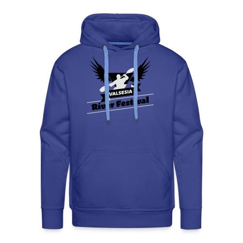 Black Silver logo - Men's Premium Hoodie