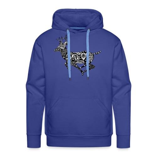 Hirschdesign - Männer Premium Hoodie