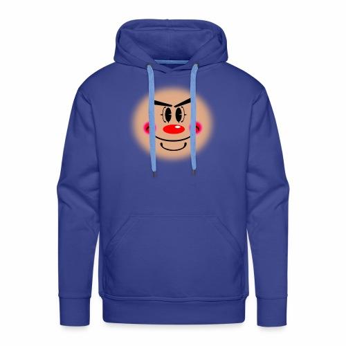 Silly Clown - Felpa con cappuccio premium da uomo