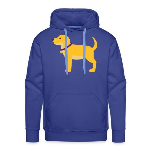 Hund Halsband Süß - Männer Premium Hoodie