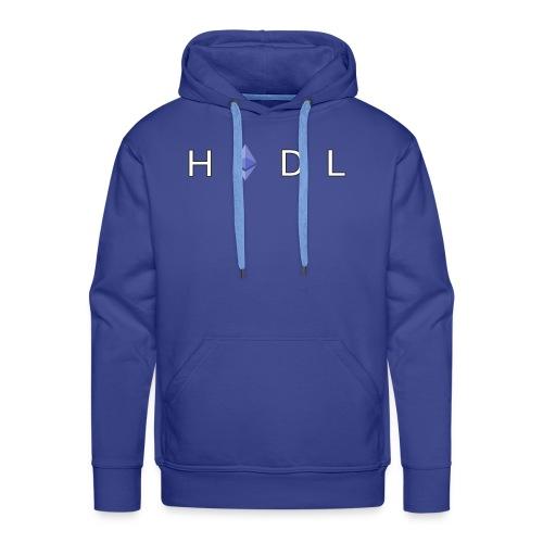Ethereum 'HODL' Design - Men's Premium Hoodie