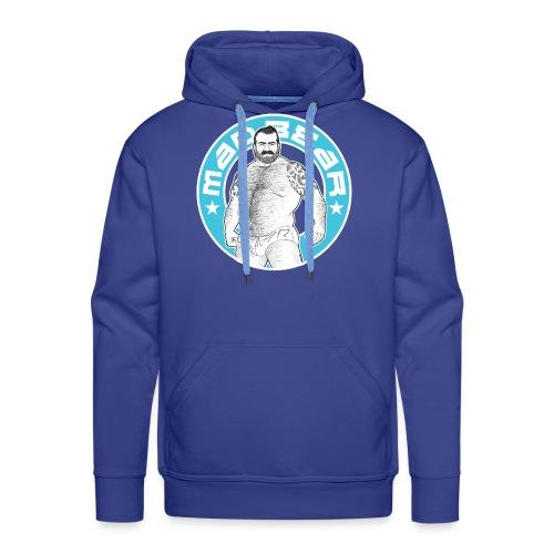 Mad.bear T-shirt blue - Sudadera con capucha premium para hombre
