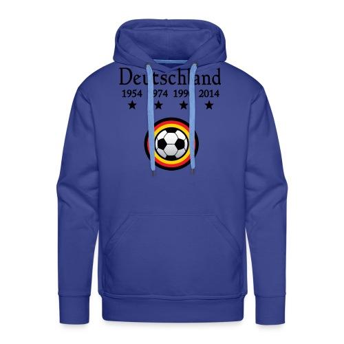 Moderne Fußball-T-Shirts Deutschland - Mannen Premium hoodie