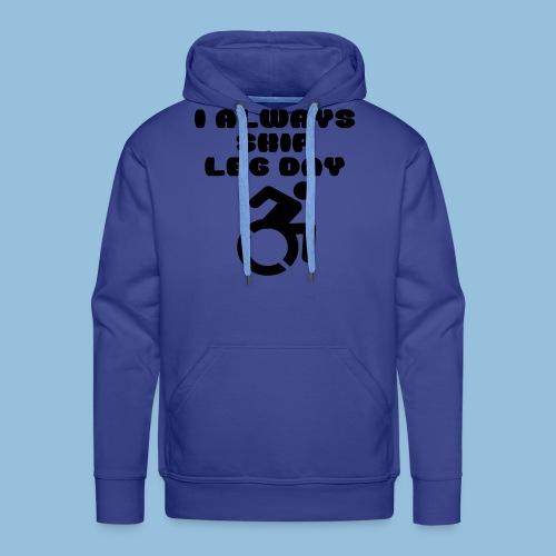 legday2 - Mannen Premium hoodie