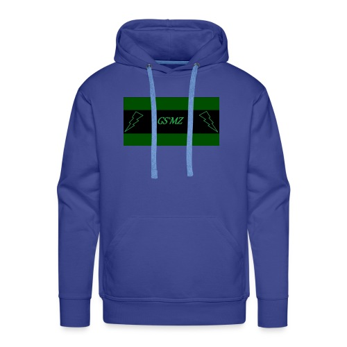 Green smoke medical Label logo 2 - Männer Premium Hoodie