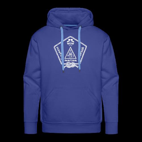 Marsua Wit - Mannen Premium hoodie
