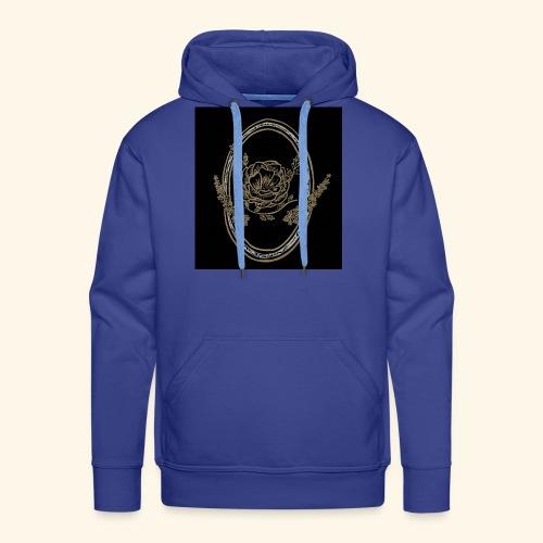 fleur nature - Sweat-shirt à capuche Premium pour hommes