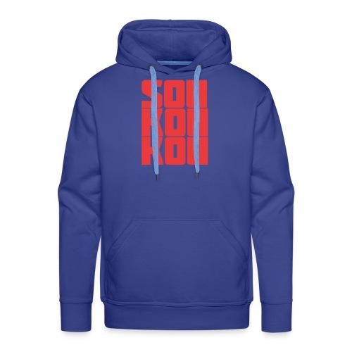 soukoukou Logo - Sweat-shirt à capuche Premium pour hommes