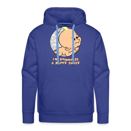 im gonna be a happy daddy - Mannen Premium hoodie