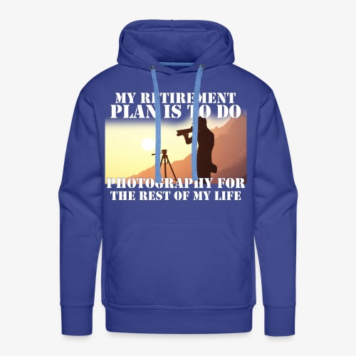 Retired Photographer - Men's Premium Hoodie