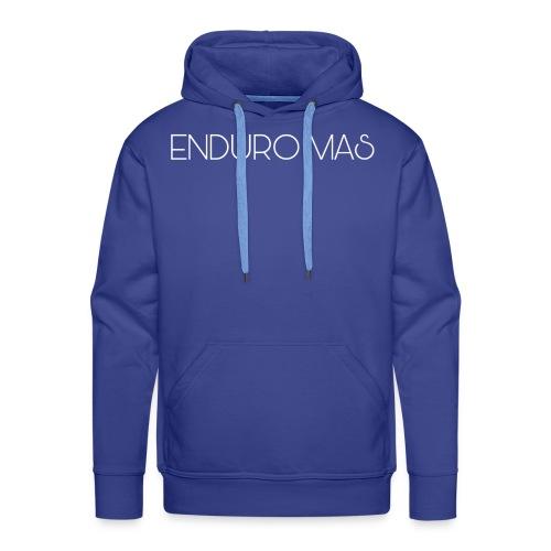 ENDURO MAS TEXTE - Sweat-shirt à capuche Premium pour hommes