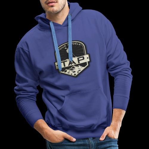 TAP Classique - Sweat-shirt à capuche Premium pour hommes