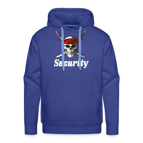 Security - Sudadera con capucha premium para hombre