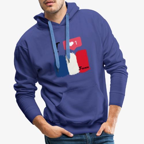 Frankreich - Männer Premium Hoodie