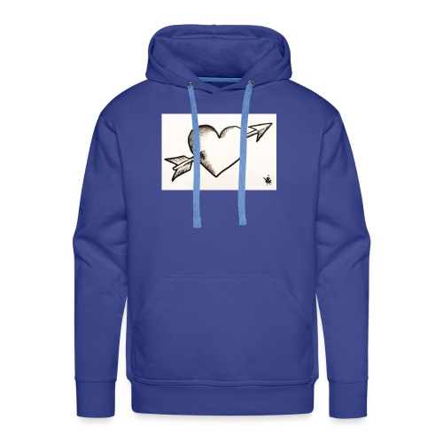 Break Heart - Sweat-shirt à capuche Premium pour hommes