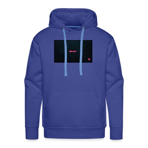 Ellis plays design merchandise - Men's Premium Hoodie