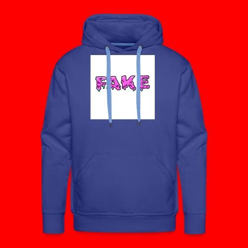 grime.art FAKE - Mannen Premium hoodie