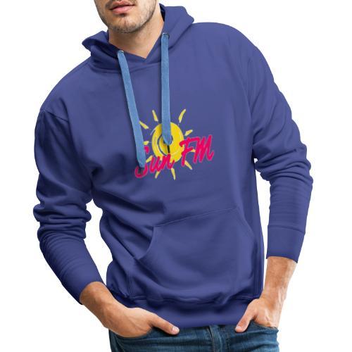 SunFM83 - Sweat-shirt à capuche Premium pour hommes