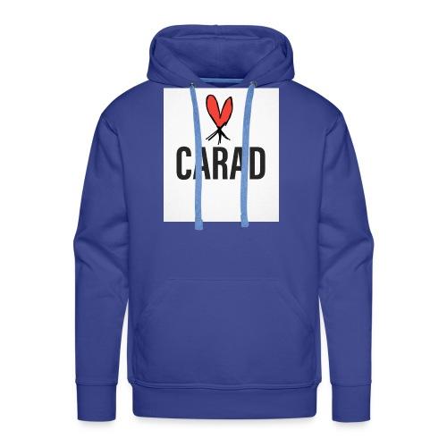 Logo und CARAD - Männer Premium Hoodie