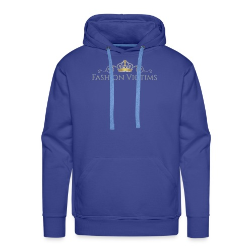 Official Fashion Victims Logo Gold/Silver - Mannen Premium hoodie